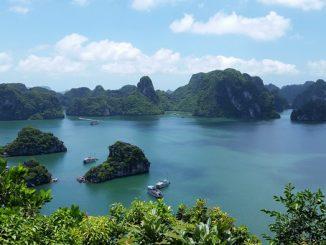 Paysage au Vietnam